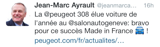 ayrault tweet voiture nonobstant écrivain public nantes smiley