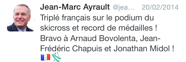 ayrault tweet ski nonobstant écrivain public nantes smiley