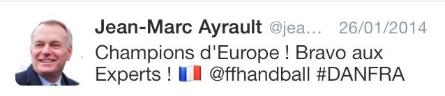 ayrault tweet handball nonobstant écrivain public nantes smiley